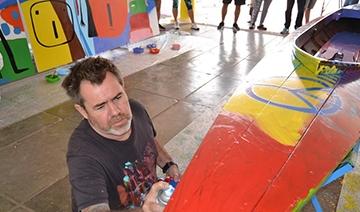 Hacoaj: Milo Lockett pintó en felicidad