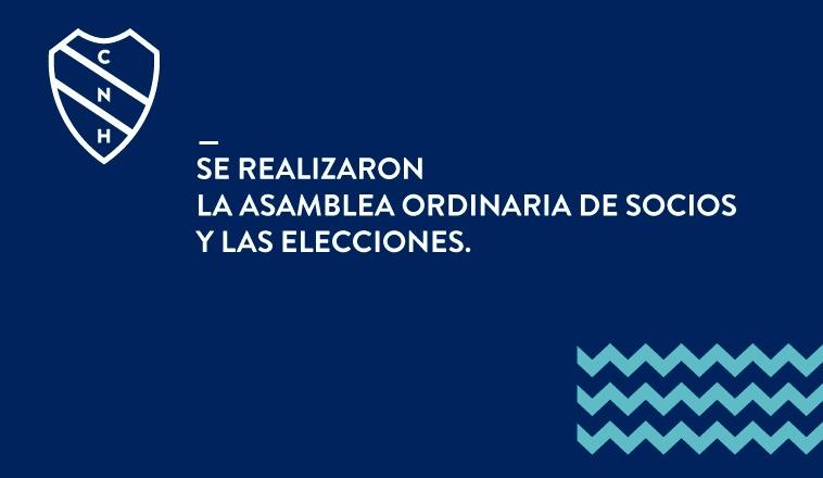 SE REALIZARON LA ASAMBLEA ORDINARIA DE SOCIOS Y LAS ELECCIONES