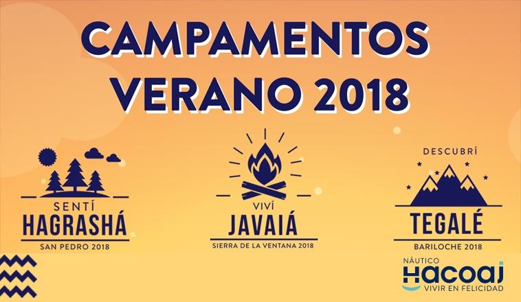 ¡CAMPAMENTOS DE VERANO 2018!