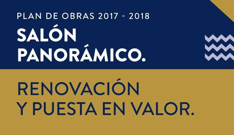 """SALÓN PANORÁMICO TOBÍAS """"TITO"""" MORGENSTERN:  RENOVACIÓN Y PUESTA EN VALOR"""