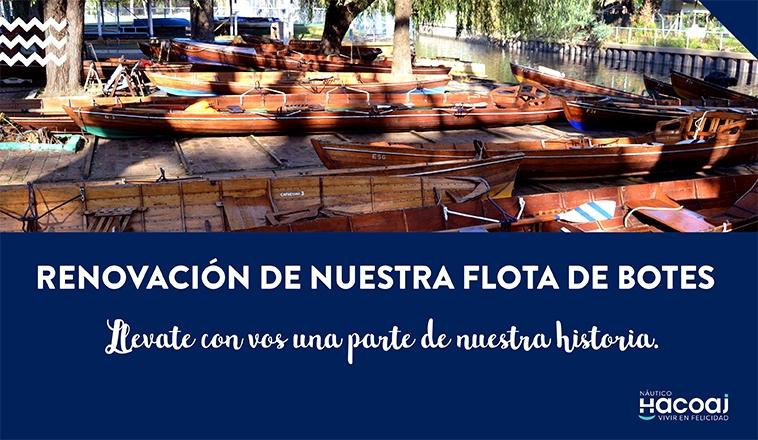 RENOVACIÓN DE NUESTRA FLOTA DE BOTES