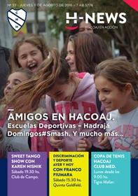 H News Nº 33 - 11 agosto 2016